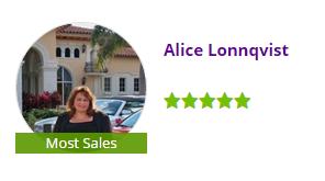 Alice Lonnqvist Most Sales Zillow